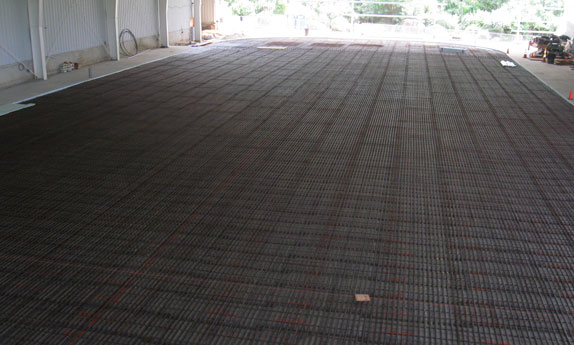 Pipes Laid Out Before Concrete is Poured